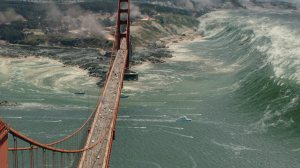 The Golden Gate Bridge places 2nd in the list of unlucky American landmarks, right after the Statue of Liberty.