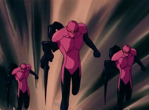 I always knew our end would come in the form of pink spandex.
